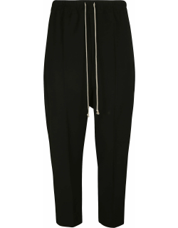 Rick Owens Drawstring Astaires Cropped Trousers