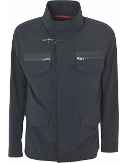 Fay Standing Collar Jacket