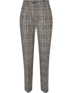Dolce & Gabbana Check Cropped Trousers