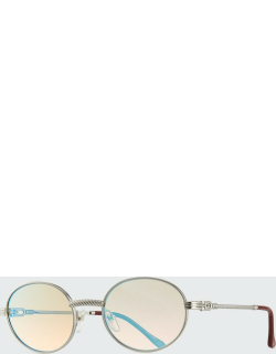 Men's VF 508 Gold-Plated Round Sunglasses