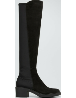Camoscio Osaka Suede Stretch Over-The-Knee Boots
