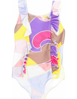 Emilio Pucci One Piece Swimsuit With Print