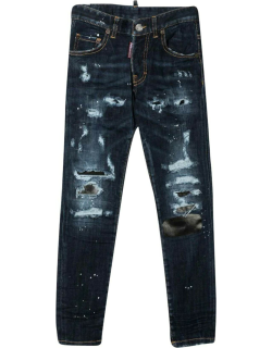 Dsquared2 Slim Jeans With Distressed Effect