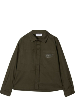 Paolo Pecora Teen Jacket-shirt With Application