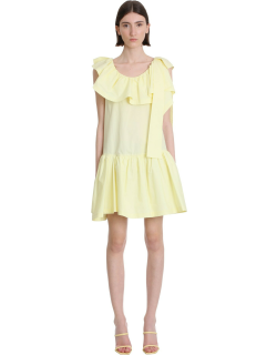 3.1 Phillip Lim Tent Dress In Yellow Cotton