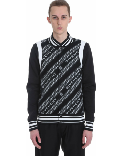 Givenchy Bomber In Black Wool