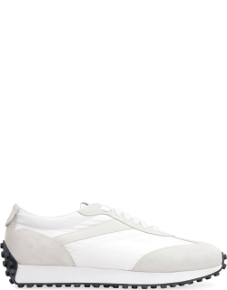 Doucals Techno Fabric And Suede Sneakers