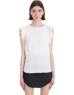 Versace Jeans Couture Topwear In White Viscose
