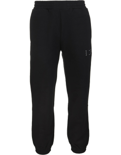 McQ Alexander McQueen Black Tapered Track Pants With Logo Man