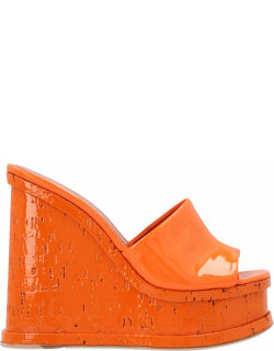 Haus Of Honey laquer Doll Wedges