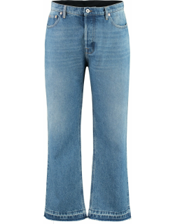 Valentino Cotton Cropped Jeans