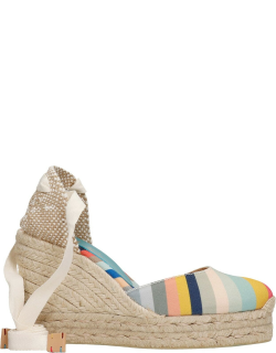 Castañer by Paul Smith Carina Ps 042 Wedges In Beige Canvas
