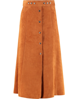 Prada Flared Skirt With Buttons