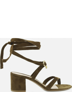 Gianvito Rossi Texas Sandals Made Of Suede