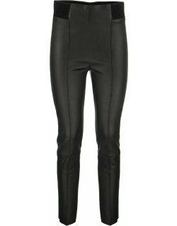 Brunello Cucinelli High-waisted Leather Leggings