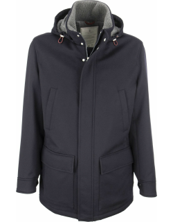 Brunello Cucinelli Hooded And Cashmere Outerwear