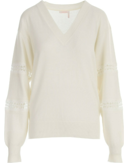 See by Chloé V Neck L/s Sweater
