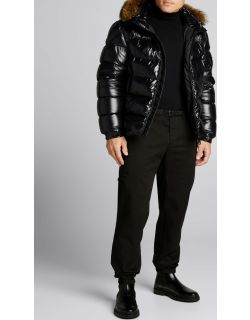 Men's Tapered Straight-Fit Cargo Pants