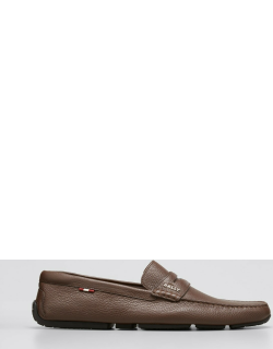 Men's Pavel Pebbled Leather Penny Drivers