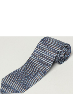 Salvatore Ferragamo Tie Salvatore Ferragamo Tie In Micro Patterned Silk