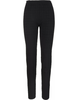 Givenchy Woman Black Knitted 4g Leggings