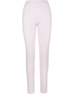 Givenchy Woman Pink Knitted 4g Leggings
