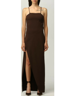 The Attico Dress The Attico Long Dress With Chain Details