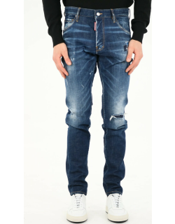 Dsquared2 Ripped Blue Jeans