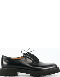 Churchs Lace-up Shoes In Black Leather