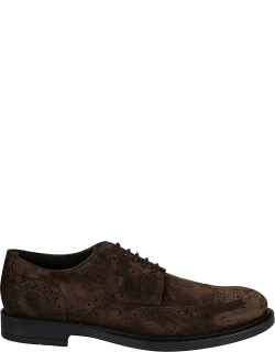 Tods Classic Perforated Derby Shoes