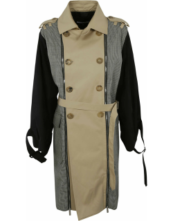Dsquared2 Double-zip Houndstooth Trench