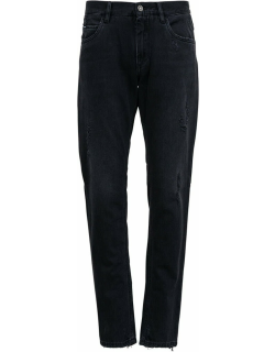 Dolce & Gabbana Denim Jeans With Ripped Details