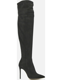 Gianvito Rossi Bea Cuissard Boots In Suede