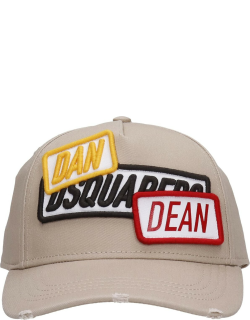 Dsquared2 Hats In Beige Cotton