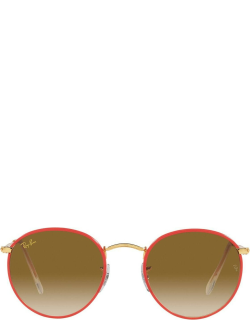 Ray-Ban Ray-ban Rb3447jm Red On Legend Gold Sunglasses