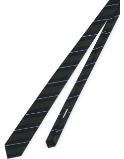 Dsquared2 Wool Striped Tie