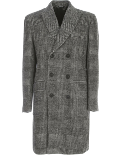 Emanuel Ungaro Wool Cashmere Double Breasted Coat