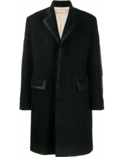 Marni Single Breasted Brushed Wool-mohair Coat