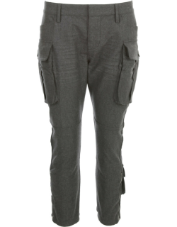 Dsquared2 Skinny Cropped Cargo Pocket Pants