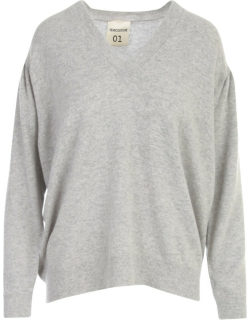 SEMICOUTURE Elodie V Neck Sweater
