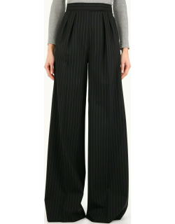 Max Mara Orsola Trousers In Wool Canvas