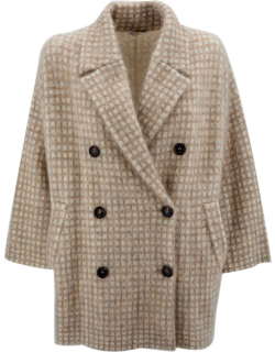 Brunello Cucinelli Knitted Construction Coat