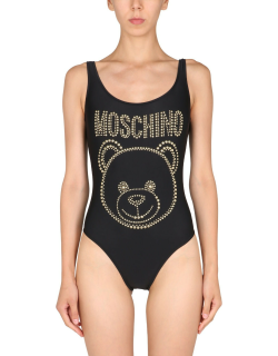 Moschino One Piece Swimsuit With Logo