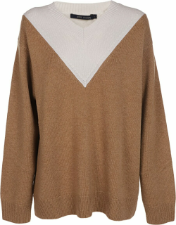 Sofie dHoore Collar V Neck Sweater