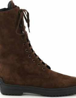 Tods Suede Leather Reversed Boots