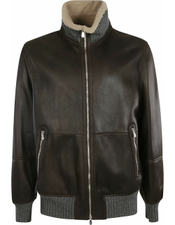 Brunello Cucinelli Two-way Zipped Bomber