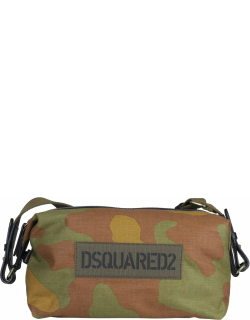 Dsquared2 Camouflage Duffle Bag