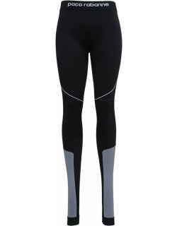Paco Rabanne Technical Jersey Leggings With Logo