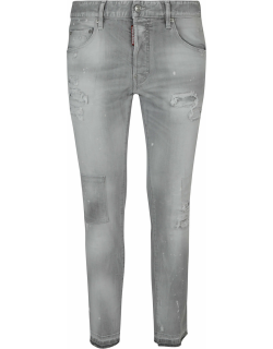 Dsquared2 Stonewash Distressed Effect Jeans