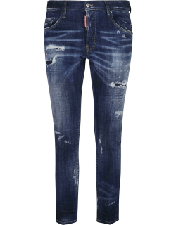 Dsquared2 Regular Ripped Jeans